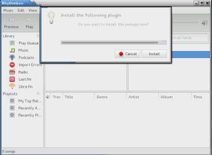 Rhythmbox mp3 plugin installer